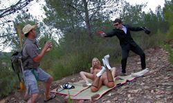 Sébastien bario, Jorge Fernandez et deux cochonnes à baiser